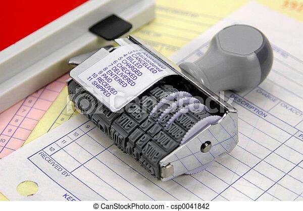 rubberstamp, 2 - csp0041842