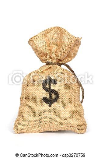 sacco soldi - csp0270759