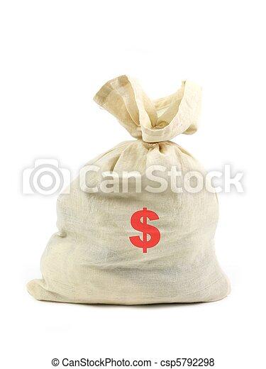 sacco soldi - csp5792298