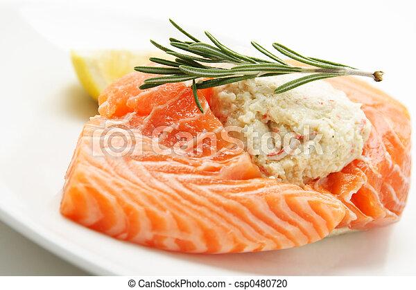 salmone, imbottito - csp0480720