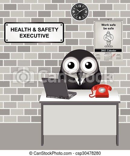 salute, esecutivo, sicurezza, & - csp30478280