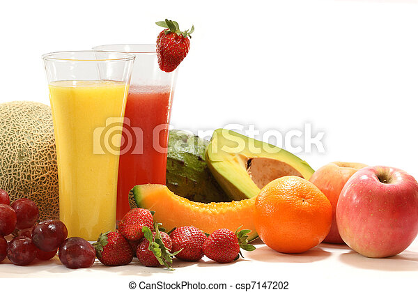 sano, verdura, succhi frutta - csp7147202