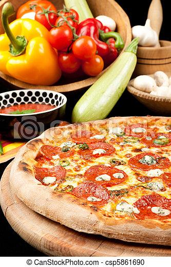 saporito, pizza - csp5861690