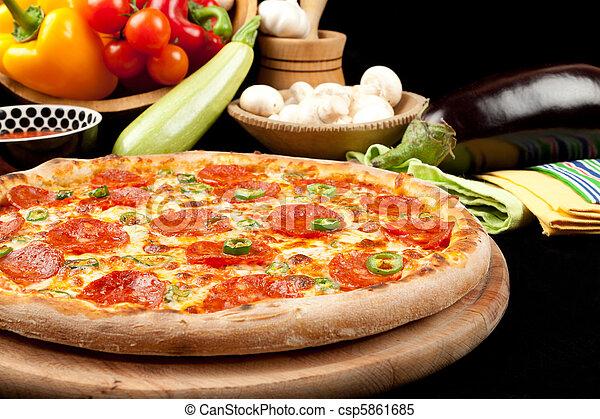 saporito, pizza - csp5861685
