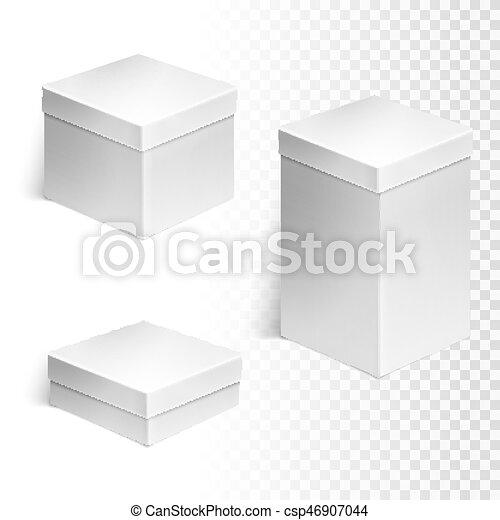 scatole, set, tre - csp46907044