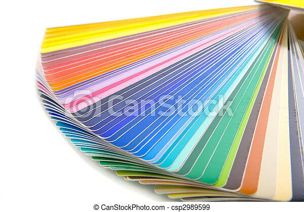 scheda colore - csp2989599