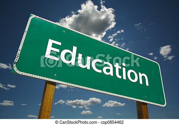 segno strada, educazione - csp0854462