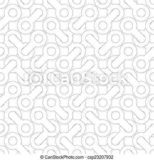 semplice, modello, astratto, -, wh, forme, vettore, allacciato, geometrico - csp23207932