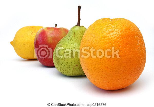 serie, 3, frutta - csp0216876