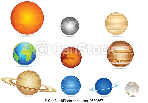 set, pianeti - csp12579867