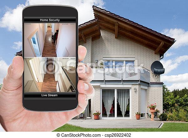 sicurezza casa - csp26922402