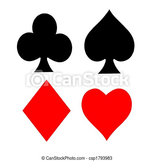 simboli, carta da gioco - csp1793983
