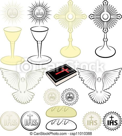 simboli, cristianesimo - csp11010388
