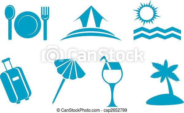 simboli, viaggiare - csp2652799