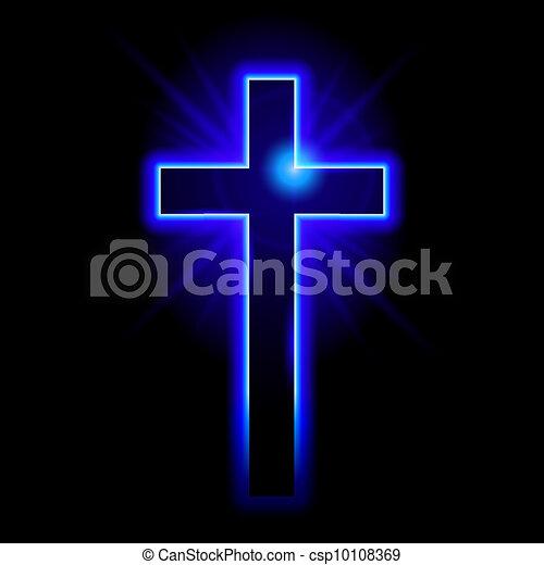 simbolo, cristiano, crocifisso - csp10108369