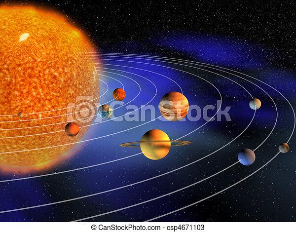 sistema, solare - csp4671103