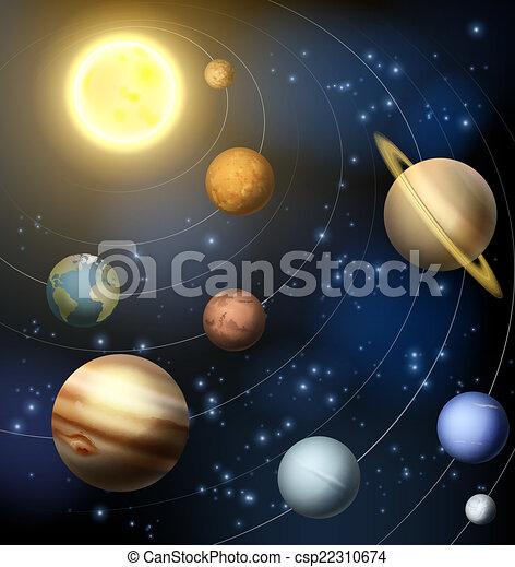 sistema, solare - csp22310674