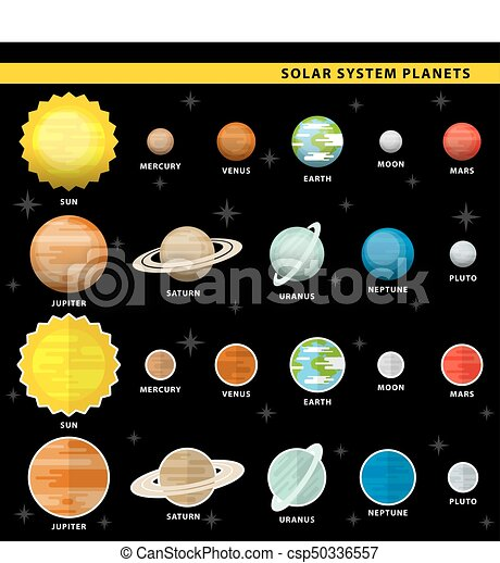 sistema solare, pianeti - csp50336557
