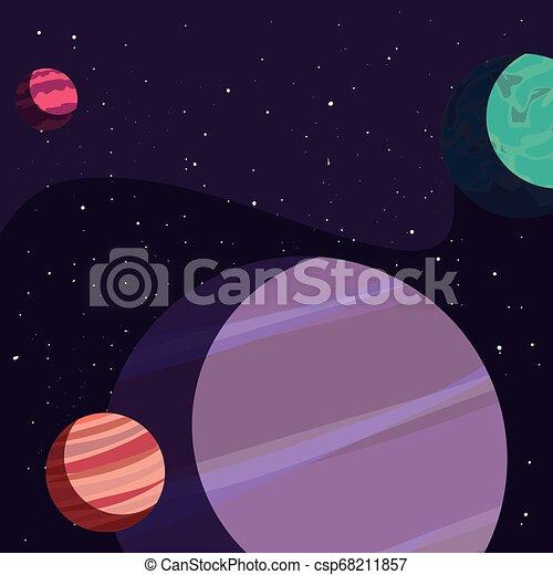 sistema solare, pianeti - csp68211857