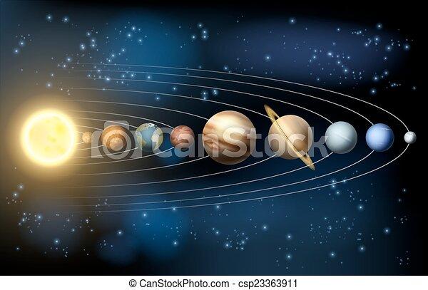 sistema, solare - csp23363911