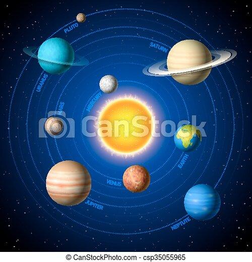 sistema, solare - csp35055965