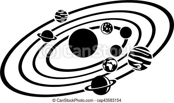 sistema solare - csp43583154
