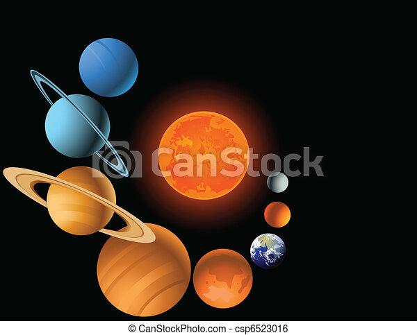 sistema, solare - csp6523016