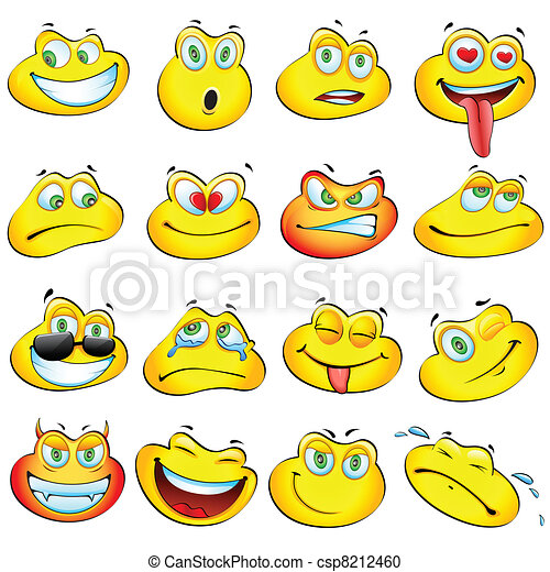 smiley, rana - csp8212460