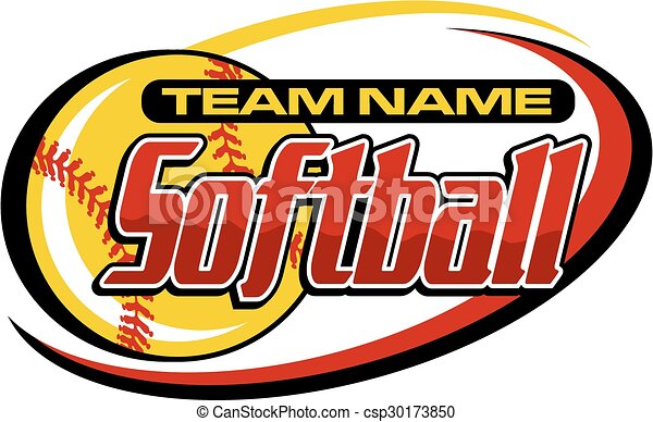 softball, disegno - csp30173850