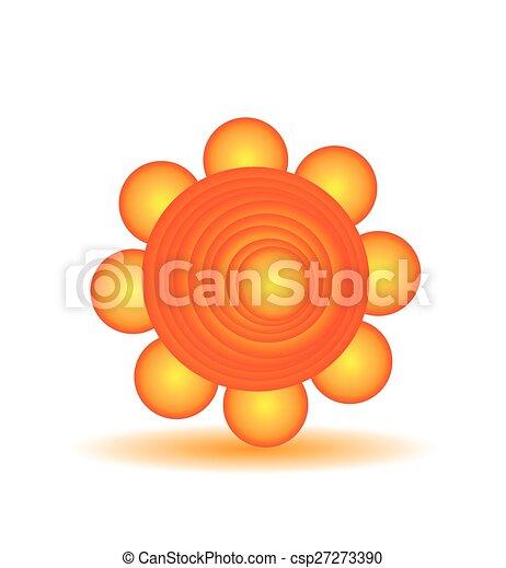 sole, vettore - csp27273390