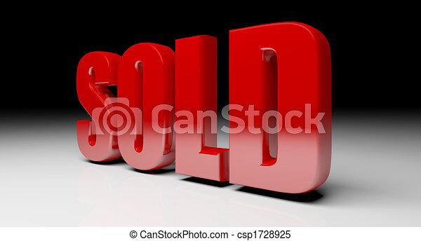 solf, testo, 3d - csp1728925