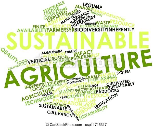 sostenibile, agricoltura - csp11715317