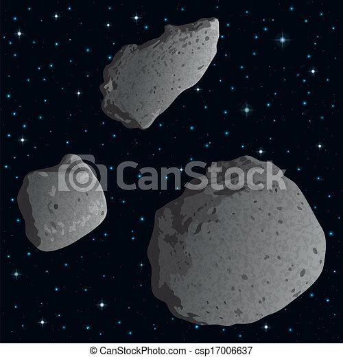 spazio, asteroidi - csp17006637