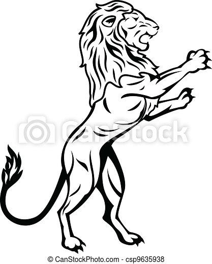 standing, leone - csp9635938