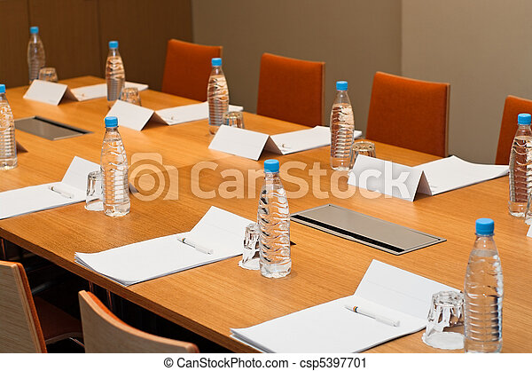 stanza, locali, lavoro, pronto, uomini affari, riunione - csp5397701