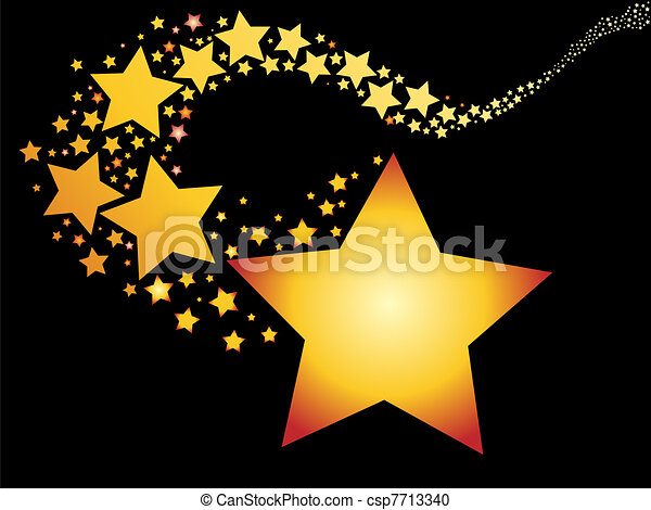 stella cadente - csp7713340