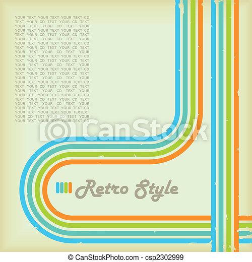 stile, retro - csp2302999
