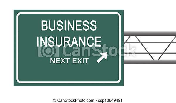 strada, assicurazione, affari firmano - csp18649491