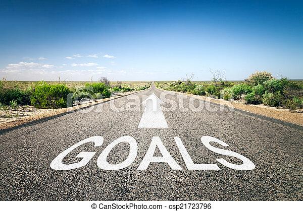 strada, orizzonte - csp21723796