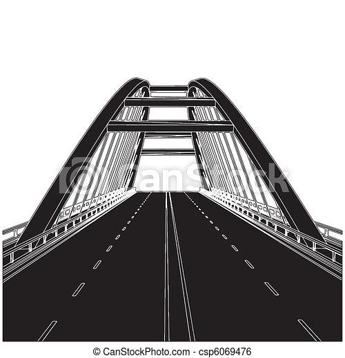 strada, ponte - csp6069476