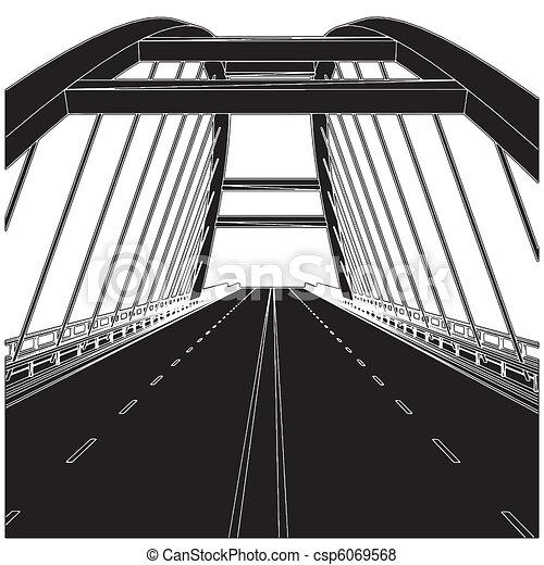 strada, ponte - csp6069568