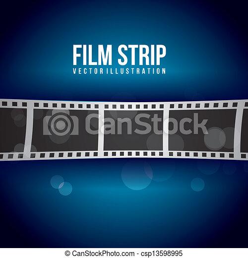 striscia, film - csp13598995