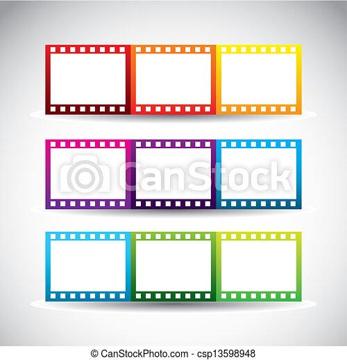 striscia, film - csp13598948