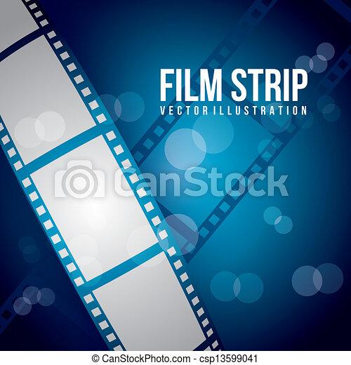 striscia, film - csp13599041