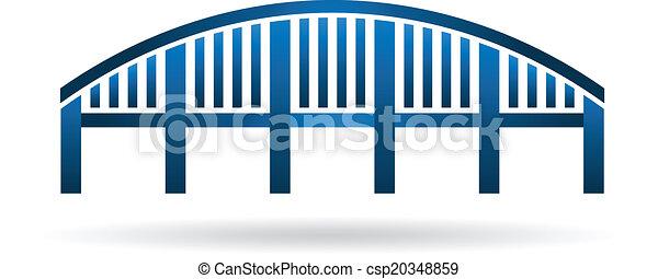 struttura, arco, image., ponte - csp20348859