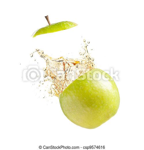 succoso, mela - csp9574616