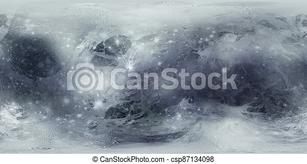 superficie, plutone, mappa - csp87134098