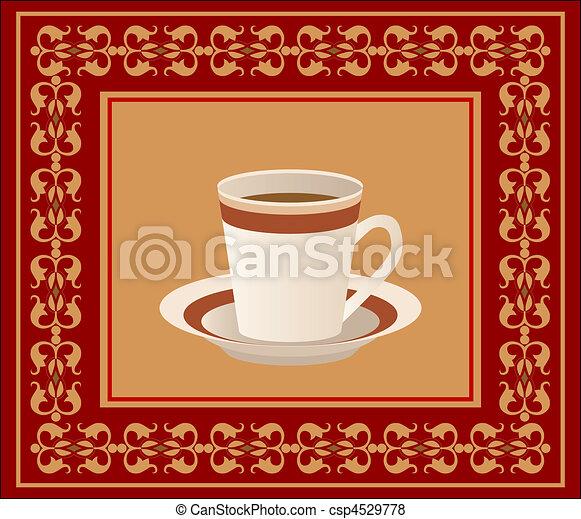 tazza caffè - csp4529778