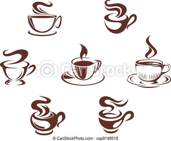 tazze caffè, tazze - csp9148518