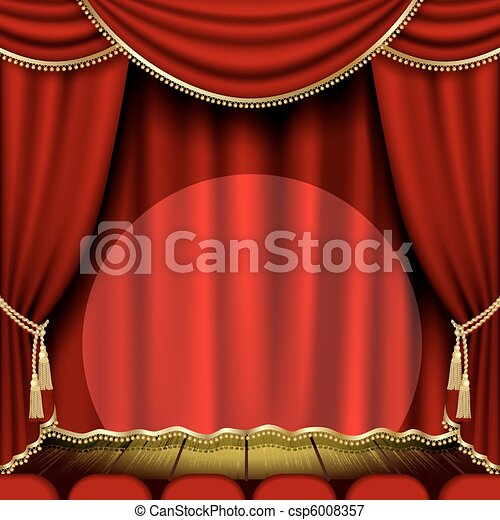teatro, palcoscenico - csp6008357